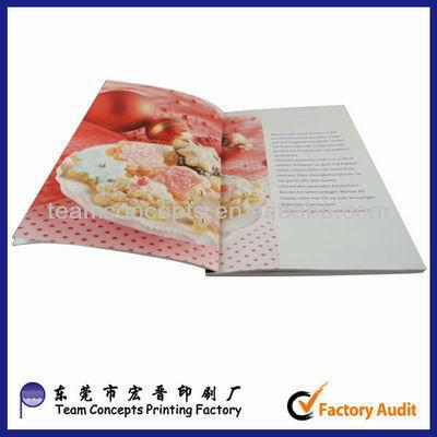 2012 new customized menu book design