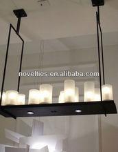 Kevin Reilly Altar LED vidrio candelabros de vela