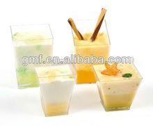 2012 hot sale plastic/ps/disposable/dessert/ice cream/cake tableware