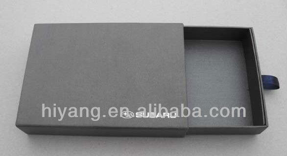customized paper blades razor box/paper drawer box