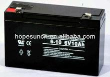 rechargeable sealed lead acid battery 6v 10ah