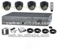 h.264 network dvr video surveillance system