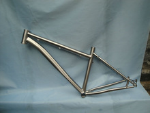 "Custom Titanium mountain bike frame for carbon WTL-S004 MTB26"""