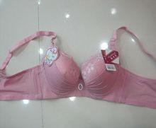 charming pink young girls sweet design bra model underwear