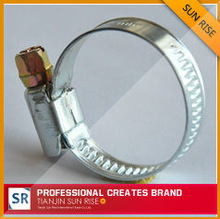 Carbon steel hose clamp(GM TYPE) auto fasteners and clips