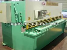 QC11K-55X2500 metal sheet hydraulic shearing guillotine type machine
