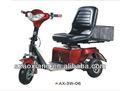 3 roue de chariot de golf électrique, la conception du corps foled, facile à mettre dans un suv
