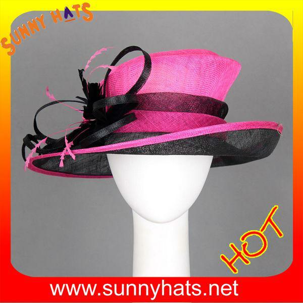 2014 el más nuevo estilo para ella de vestir sombreros