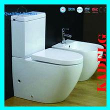 P-trap 180mm Two Piece Toilet Australian Standard