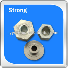 oem aluminum machined parts clear anodized