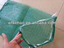 green tubular mesh bag 50*80cm for garbage
