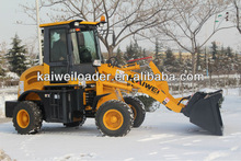 high quality ZL15 mini tire loader with CE certification