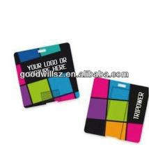 Mini Custom Slim Plastic Business Card USB Flash Drive 2.0