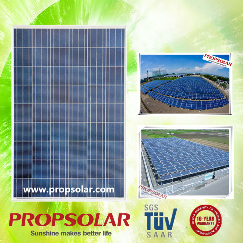 High effective poly 220W solar panel price india