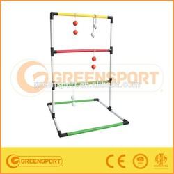 Ladder golf toss game blingo toss ball shelf