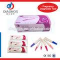 Teste de gravidez hCG Kits / gonadotrofina coriônica humana teste