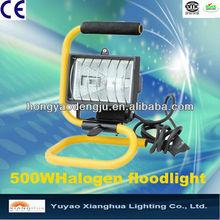 IP54 Portable 500w Halogen Outdoor Flood Light