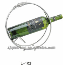 Newly Round handle designed wine rack wine holders