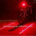 la moda de alta calidad láser led de la cola de la vendimia de la luz de la bicicleta