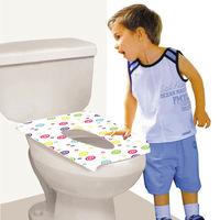 Waterproof/Disposable toilet seat cover with ecofriendly materia