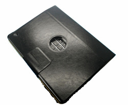 New Arrival black leather case with bluetooth wireless keyboard for ipad 2 3