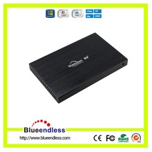Universal 9.5mm Thickness Alumium HDD Enclosure USB2.0 To SATA HDD Caddy