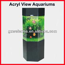 SUNSUN Compact Acryl Small Fish Tanks 128L 2*10W(T8) JC-500