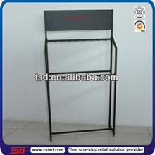 TSD-M025 Custom retail shop metal car accessories display stand/metal frame floor display stand/auto wiper display rack