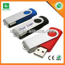 Swivel usb flash drive 1G 2G 4G 8G 16G 32G Factory direct selling
