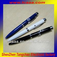 super fashion! metal laser logo projector pen