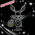 Easter Bunny Egg motif rhinestone
