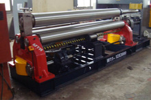 16mm thickness 2000mm width steel plate roll forming machine