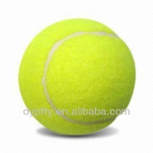 "yellow training 2.5"" rubber tennis balls"