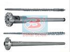 Extruder single screw barrel with vented design for extruder