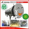 continuous vacuum belt dryer for catalyst