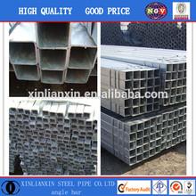 BS 1387 galvanized square & rectangular steel pipe