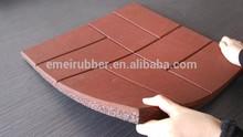 outdoor decking rubber tile