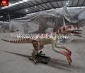 معدات الملعب 1.5m المطبوعةطويلة قويصغيرة ديناصور لعبة