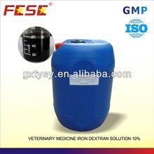 veterinary iron dextran solution pig feed formulation