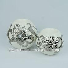 Fashion Design Luxury Ceramic Tealight Holder