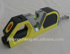 Laser line level and tape measure