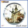 Wall Metal Clock WH-9945 Butterfly Design Dial Art Metal Wall Clock Sale