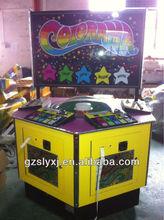 Colorama firefly 4 gente electrónico de la ruleta bingo máquina de juego