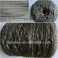 1/2.5nm wool polyester linen slub fancy yarn