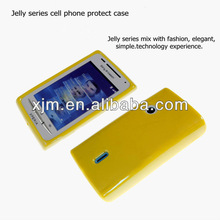 2013 Jelly Series Special Mobile Phone Case Suit for Sony Ericsson X8