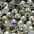 Faceta 16 brillante luz del melocotón de diamantes de imitación oeko- tex libre de plomo artificial de cristal de piedra
