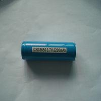 li-ion 18650 2.2ah 3.7v led flashlight Rechargeable batteries