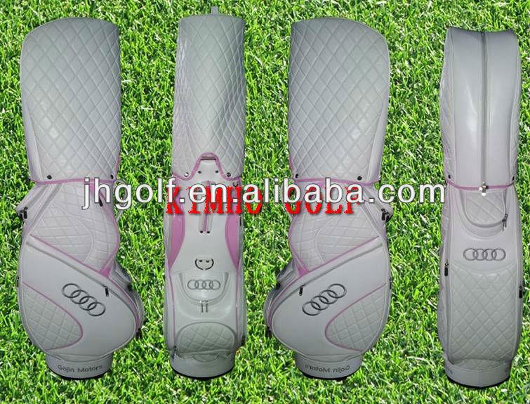 Unique golf bag with custom logo