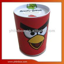 coin bank tin can