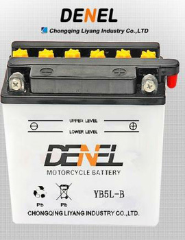 YB5L-B YB High Performance Batteries for Scooter motorbike batteries